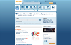 Screenshot www.univadis.de